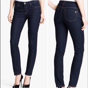 Kate Spade Broome Street Jeans Size 27 Dark Blue